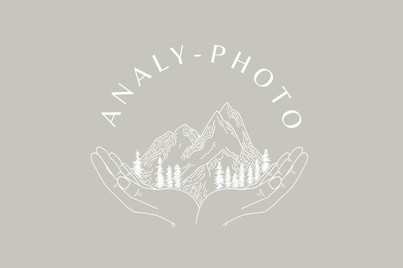 Analy-Photo logo & branding design - Bea & Bloom Creative Design Studio