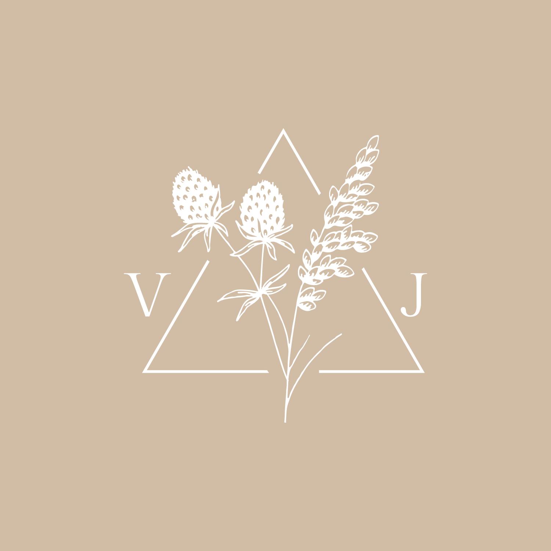 Bea & Bloom Creative Design Studio - Logo design for Vanessa Jaclyn