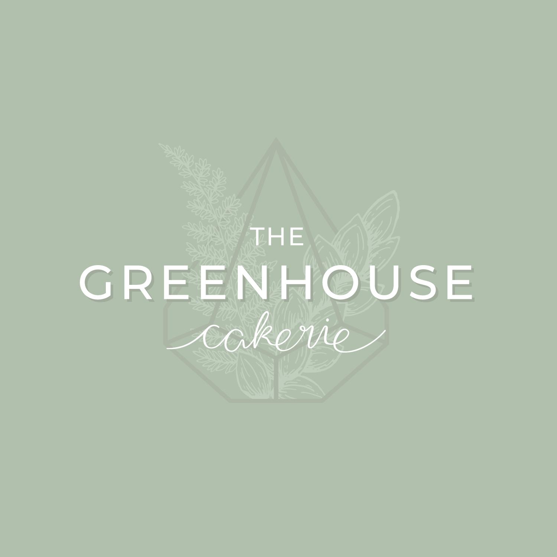 Bea & Bloom Creative Design Studio - Logo Design for Greenhouse Cakerie