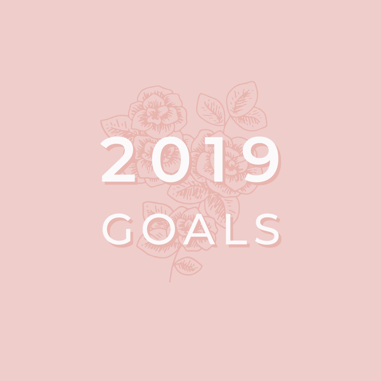 Bea & Bloom Creative Design Studio - 2019 Goals