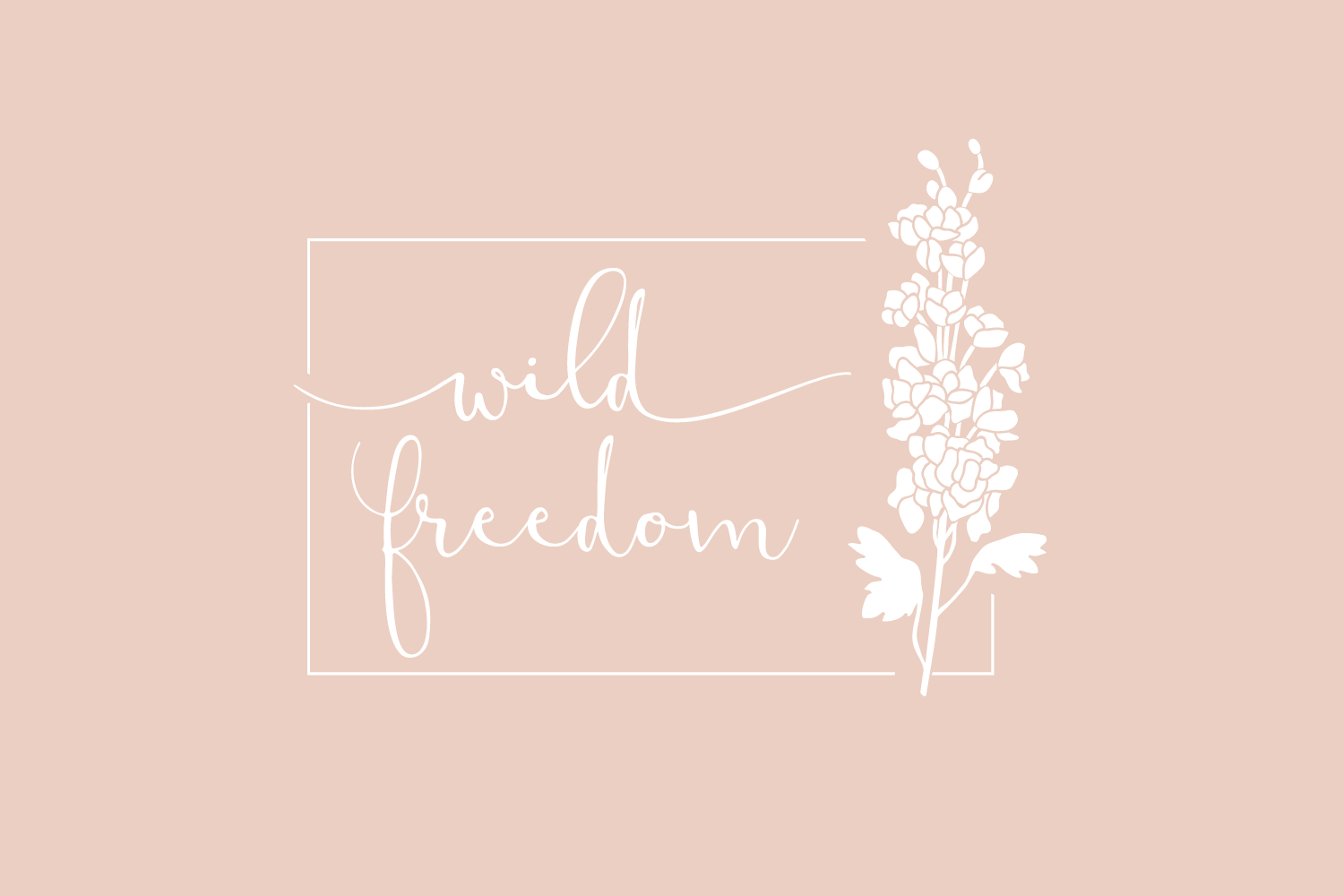 Wild Freedom - Logo and Branding design for small businesses by Bea & Bloom Creative Design Studio