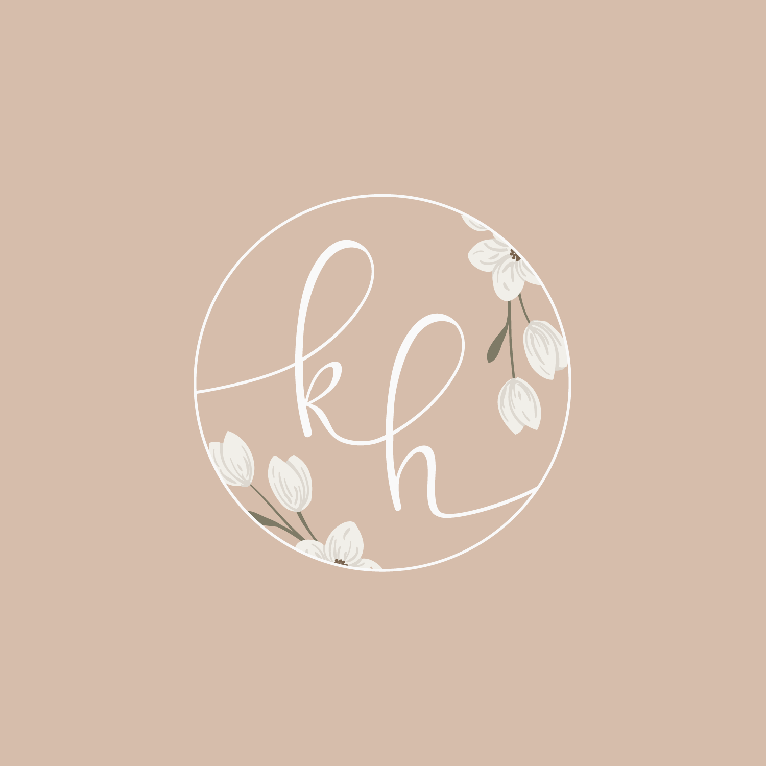 K Hice Photography Logo & Branding by Bea & Bloom Creative Design Studio