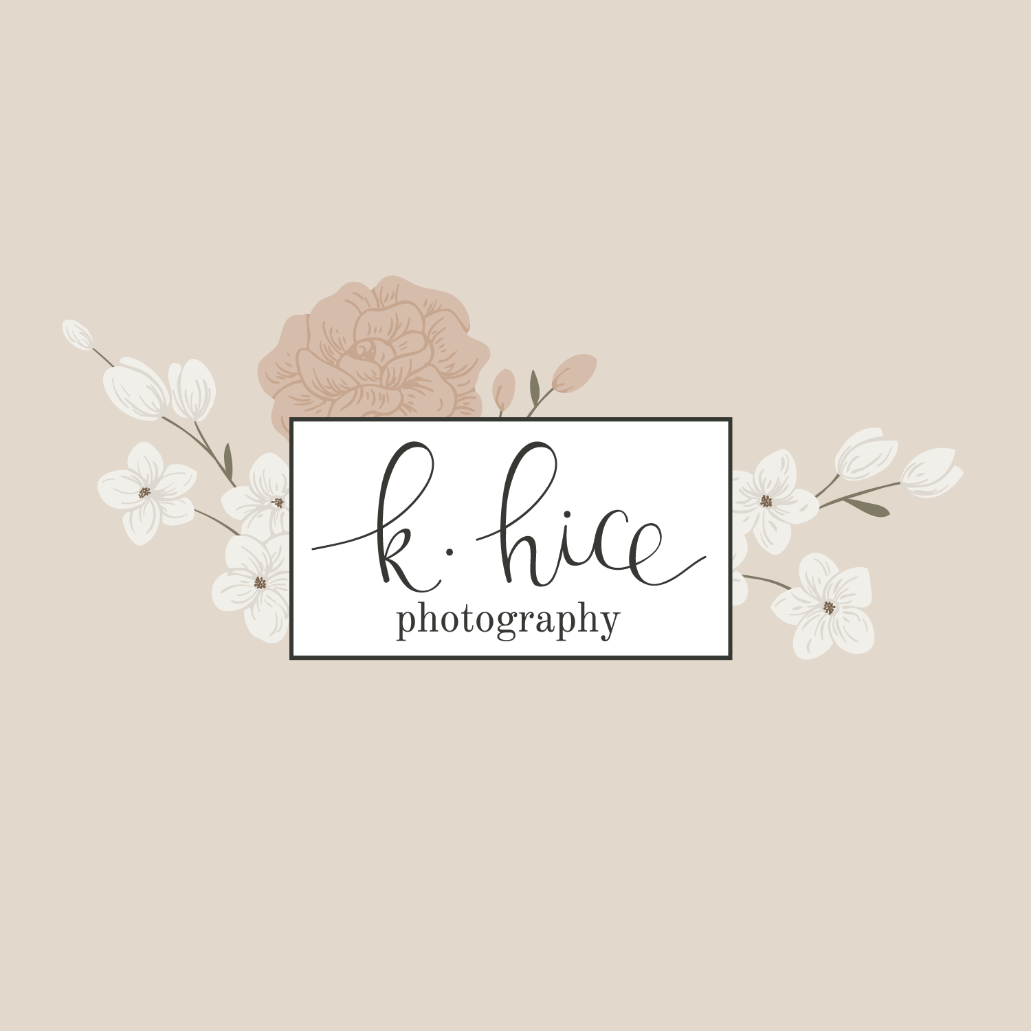 Social Sharing  9.pngK Hice Photography Logo & Branding by Bea & Bloom Creative Design Studio