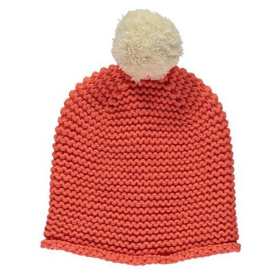 Miss Pom Pom chunky knit beanie , £20