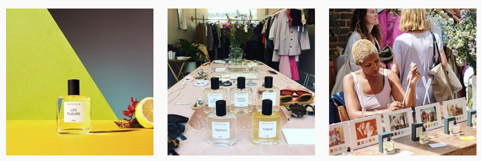 Looking for a new perfume for the new year?  Maya Njie  creates a range of beautiful scents using rich essential oils, aroma compounds and resins. The bespoke packing also makes it a perfect gift for a loved one.