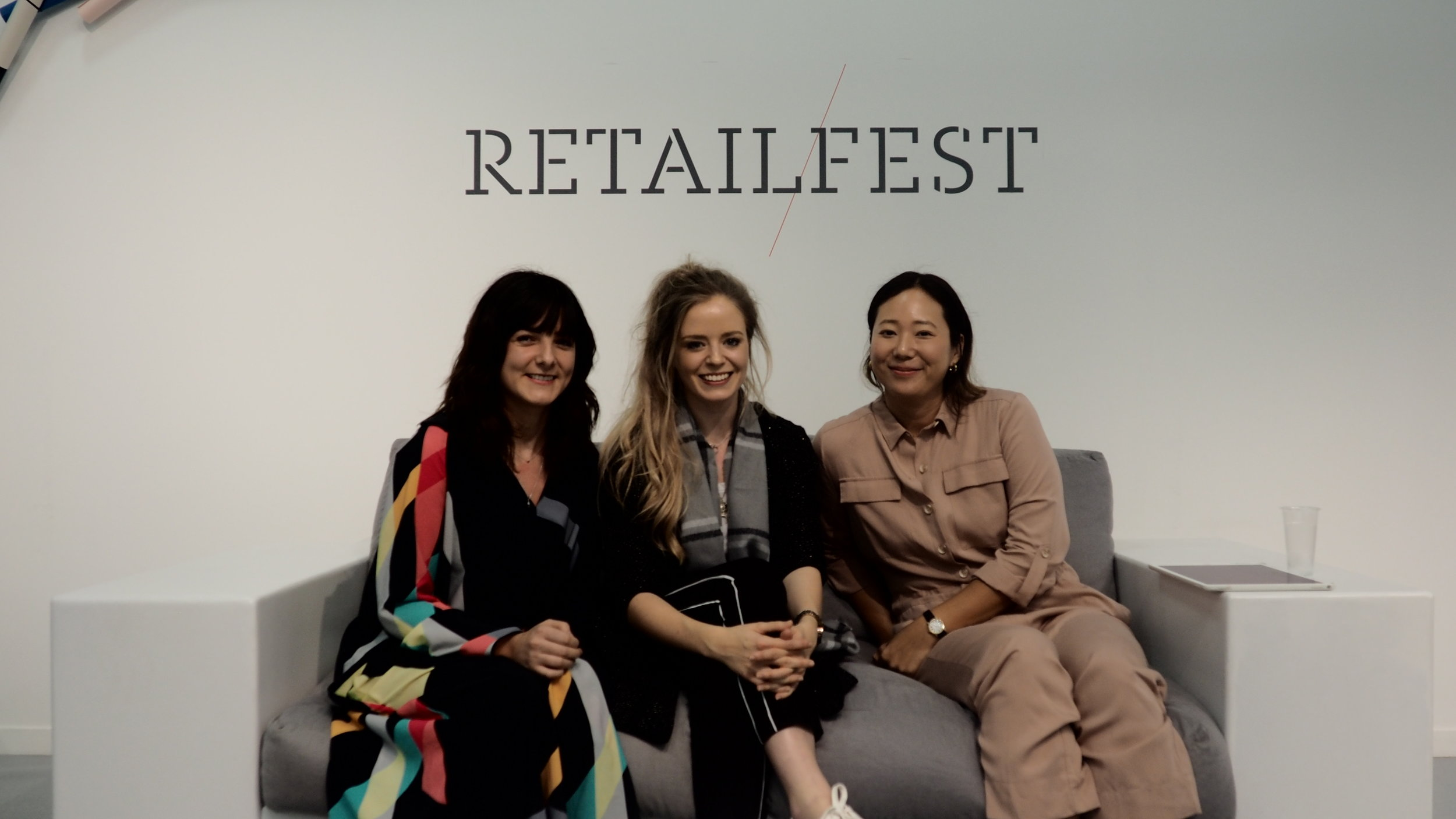 (L-R) Rosie Davies-Smith, Fiona Grayson and Molly Parks.