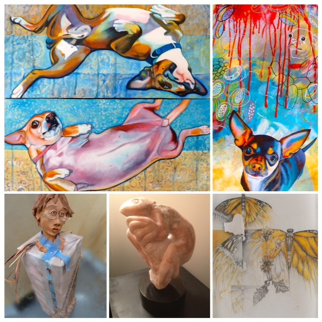 A view past winners featured in the Retrospective Exhibition 2016.