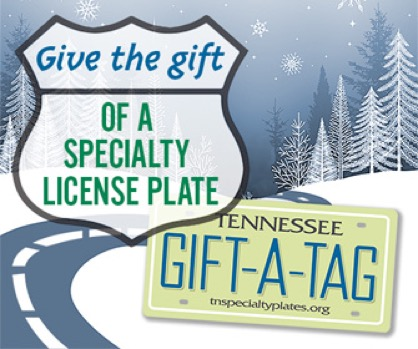 Tennessee Specialty License Plates - Support the Arts
