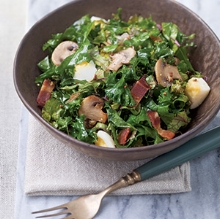 Hearty Kale Salad (click for recipe)