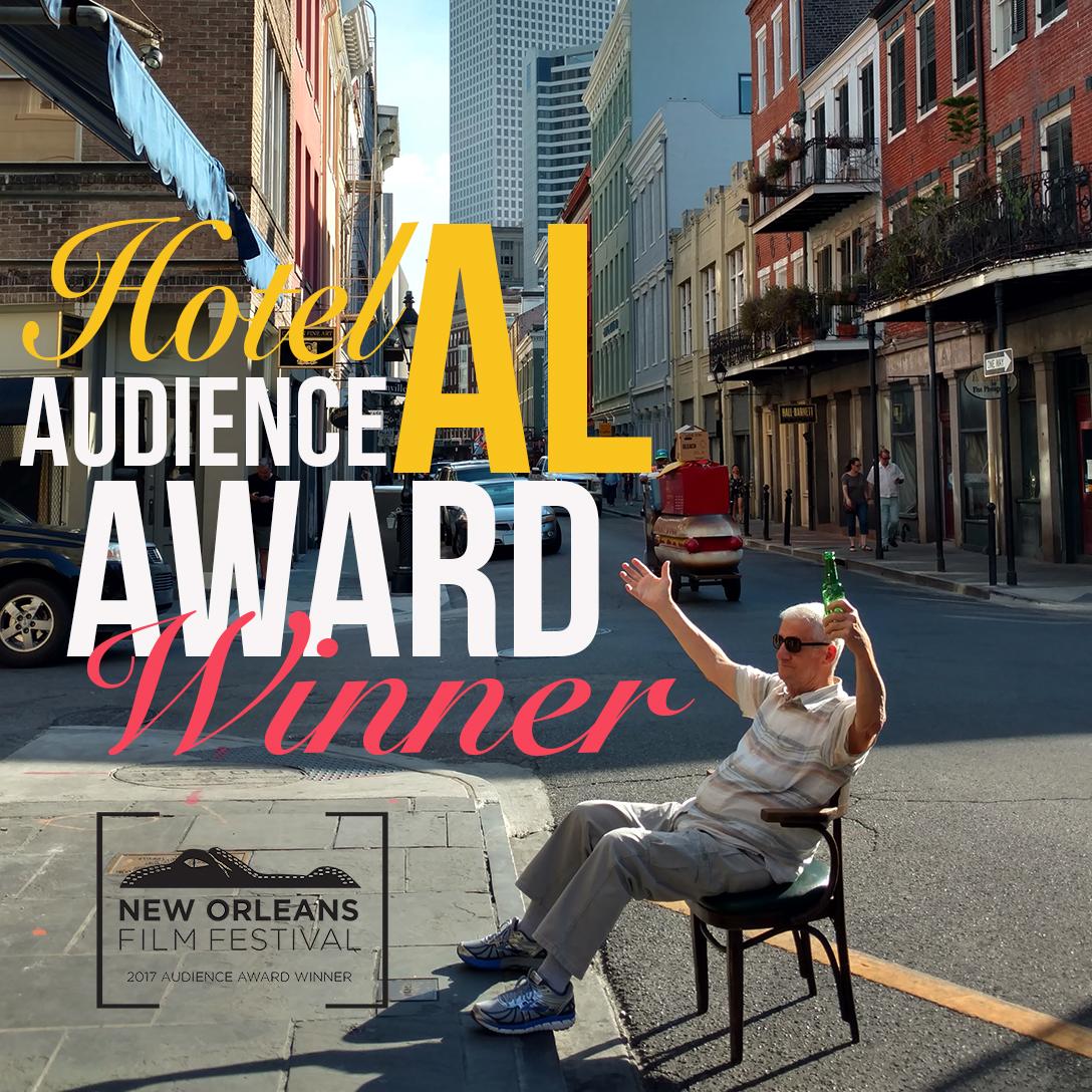 Audience Award Winner for Best Louisiana Short -     New Orleans Film Festival 2017