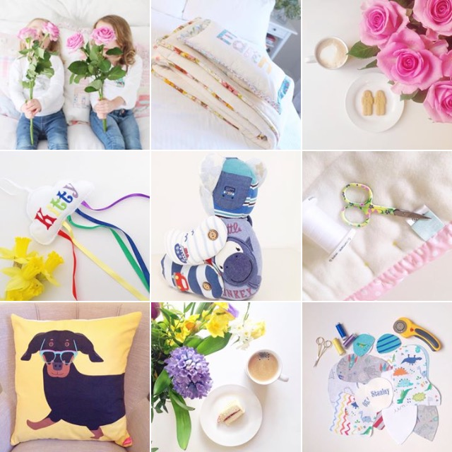 Made Just sew instagram grid