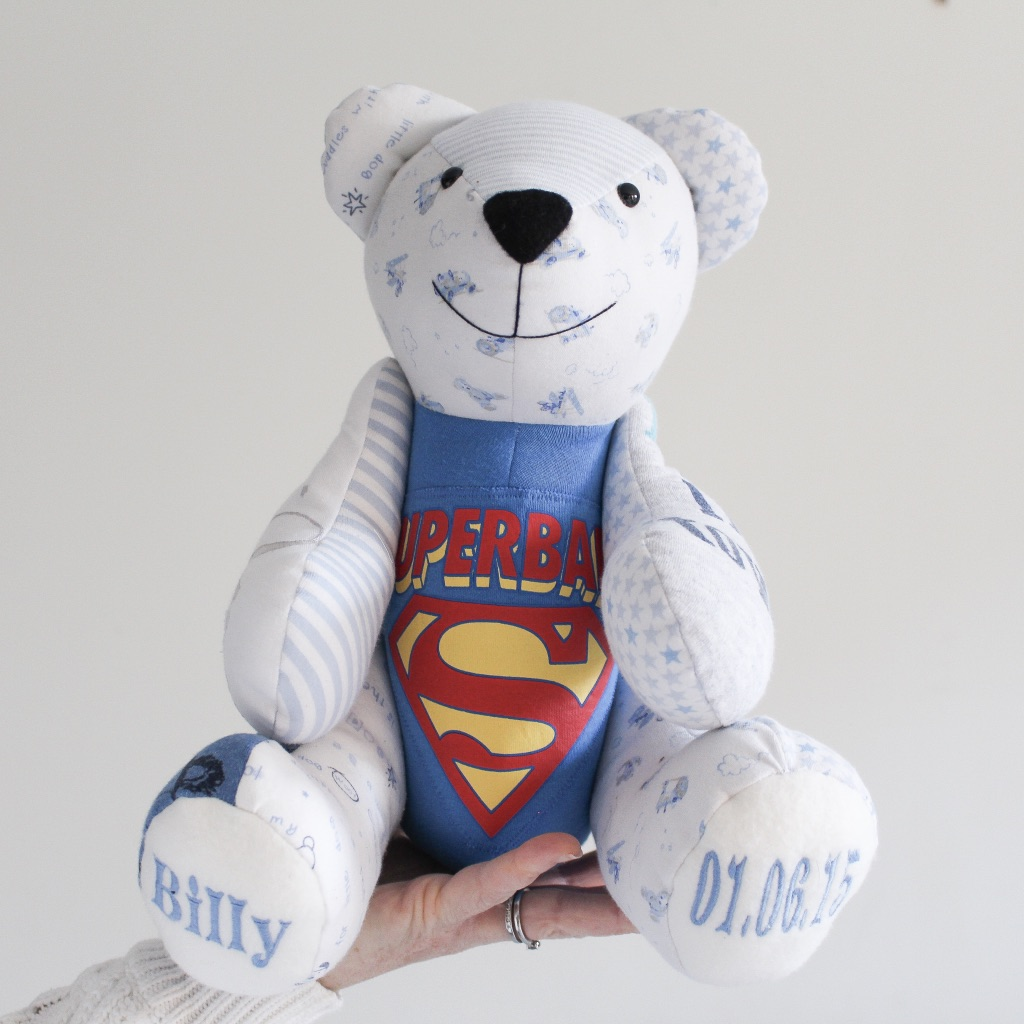Every memory bear is 'super' special!
