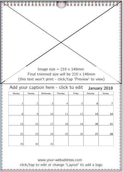 1 image (no border) + text advert