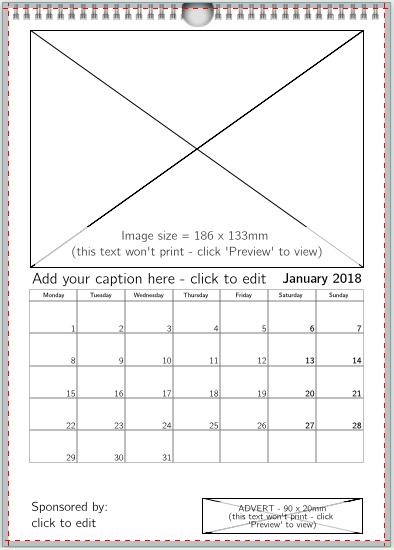 1 image + image/text advert