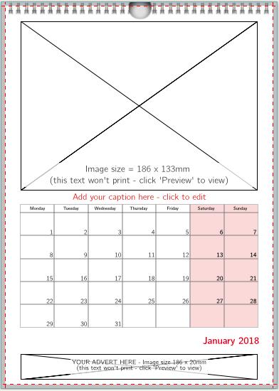 1 image + image advert (RED)