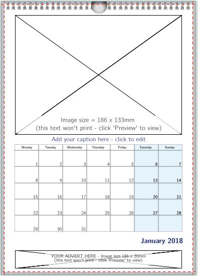 1 image + image advert (BLUE)