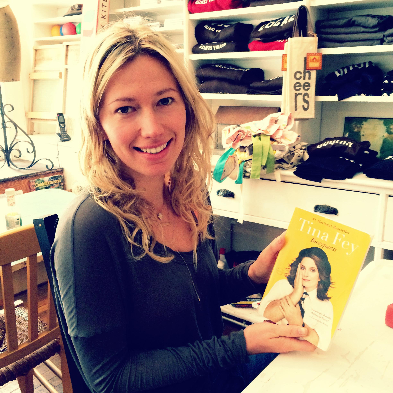 Sara Mae Elbert with Tina Fey's BOSSY PANTS (Hachette, 2011)