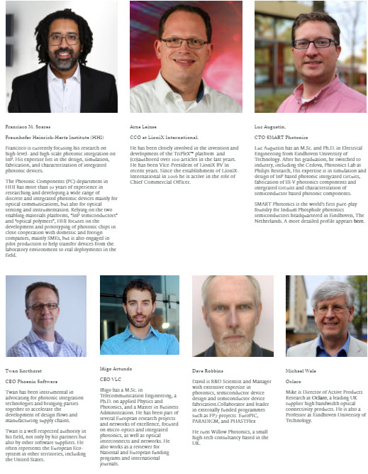 The JePPIX Team:    coordinators and steering board