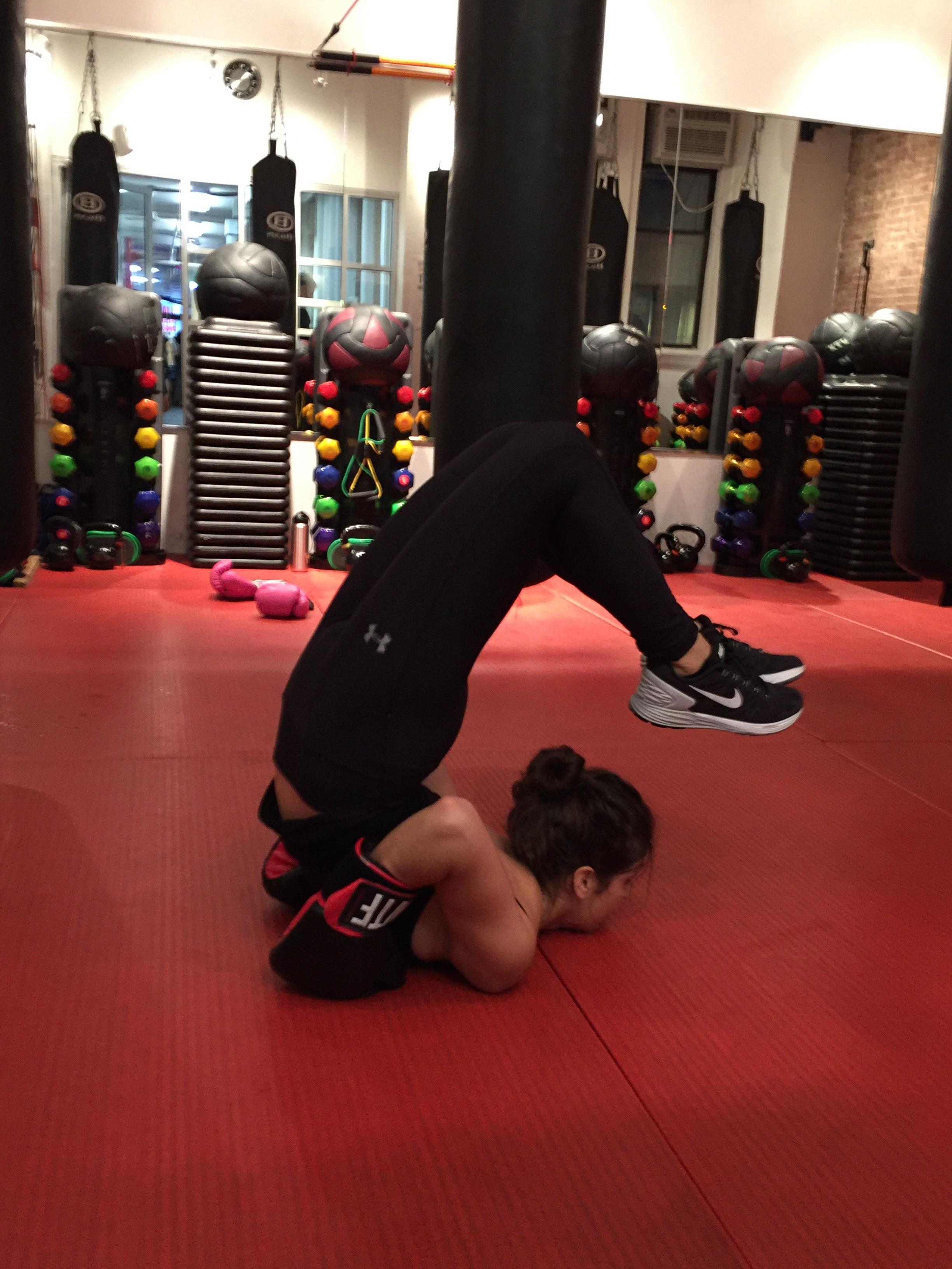 yin : yang --- boxing: yoga