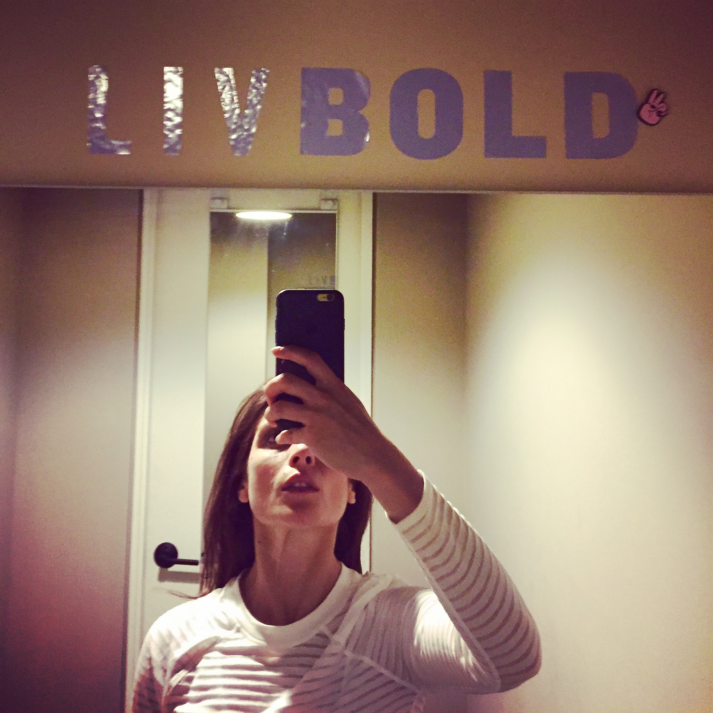 liv bold. and breathe along the way.