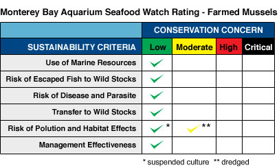 To learn more about sustainable seafood visit Monterey Bay Aquarium Seafood Watch.