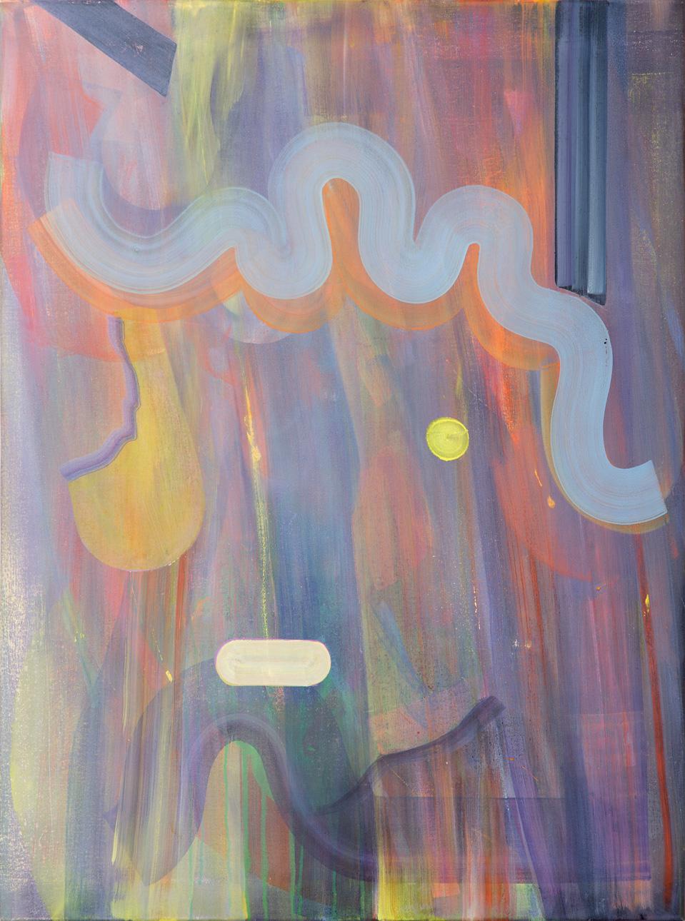 Girl, oil on canvas, 80cm x 60cm, 2015