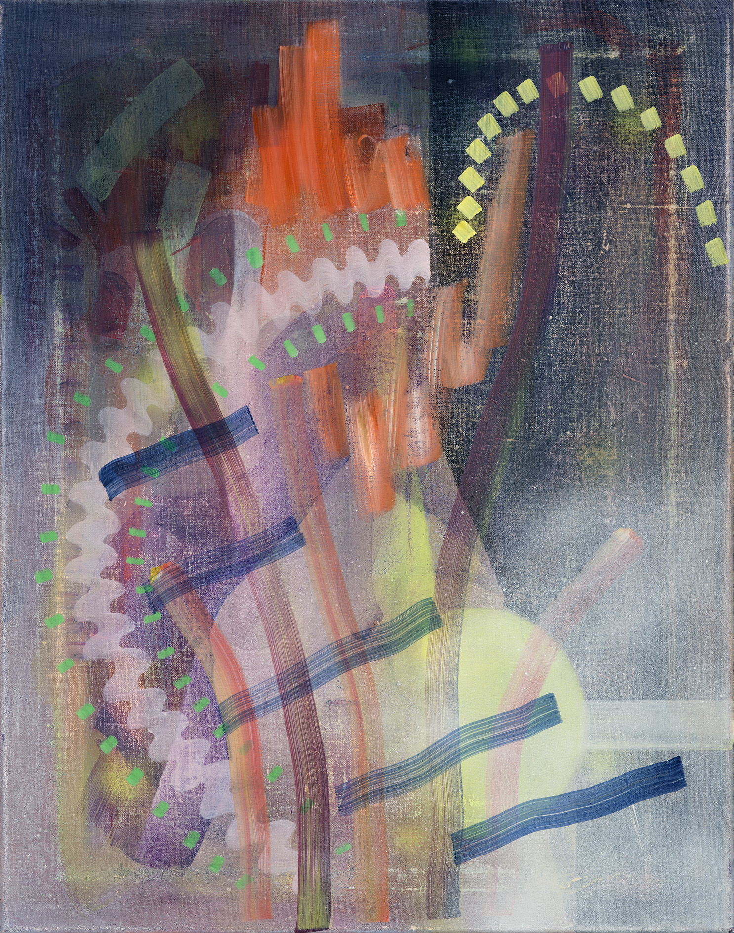 Untitled 11, oil on linen, 50cm x 40cm, 2016