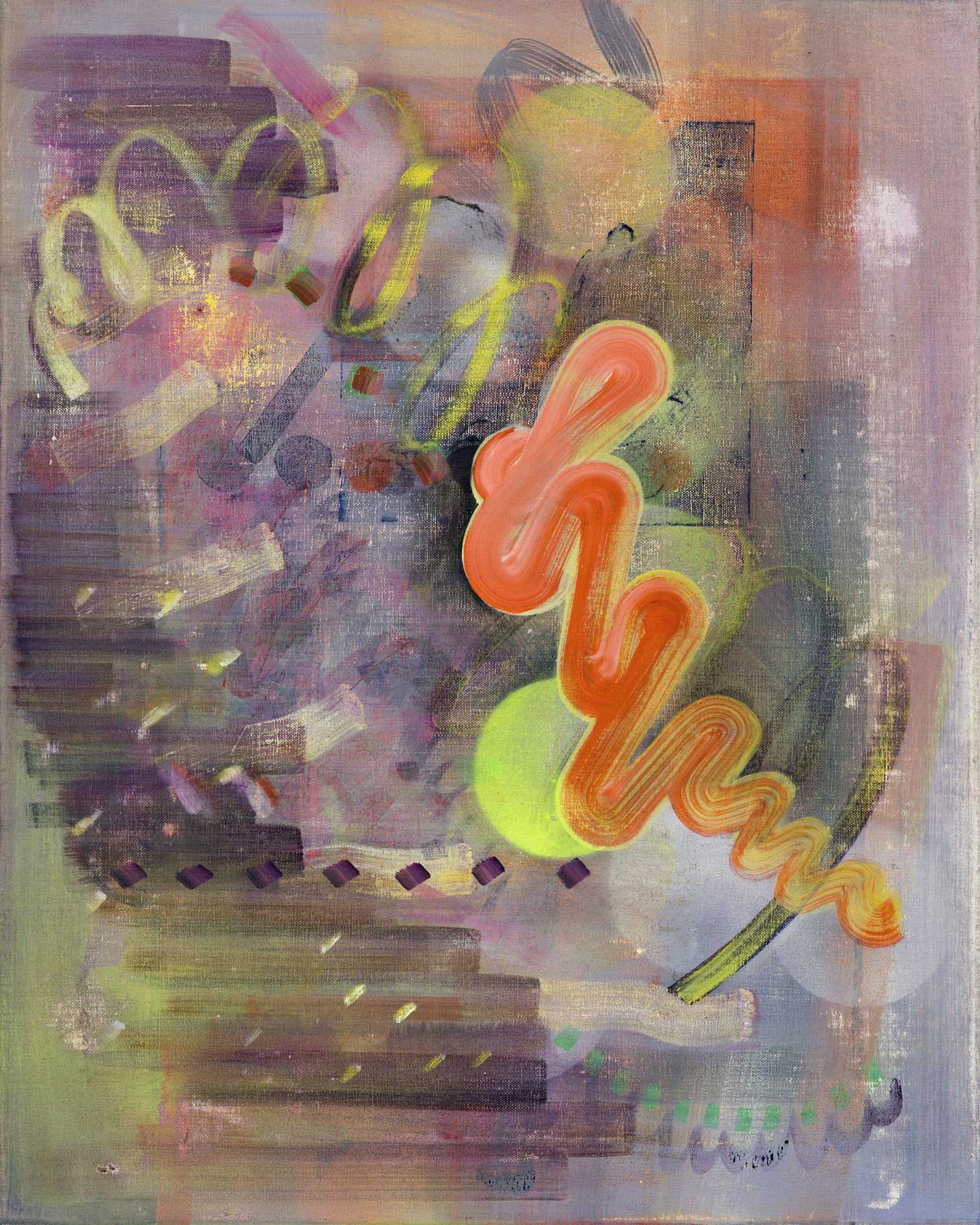Untitled 20, oil on linen, 50cm x 40cm, 2017