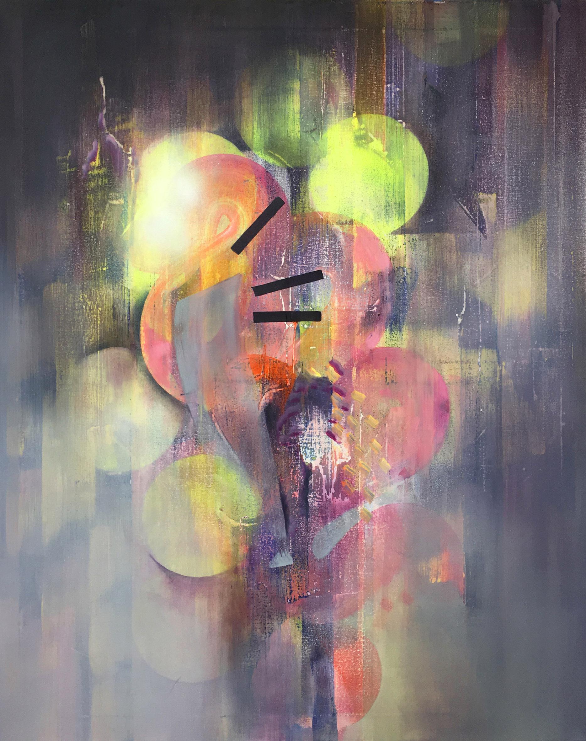 Valleys, 76cm x 61cm, oil on canvas, 2016