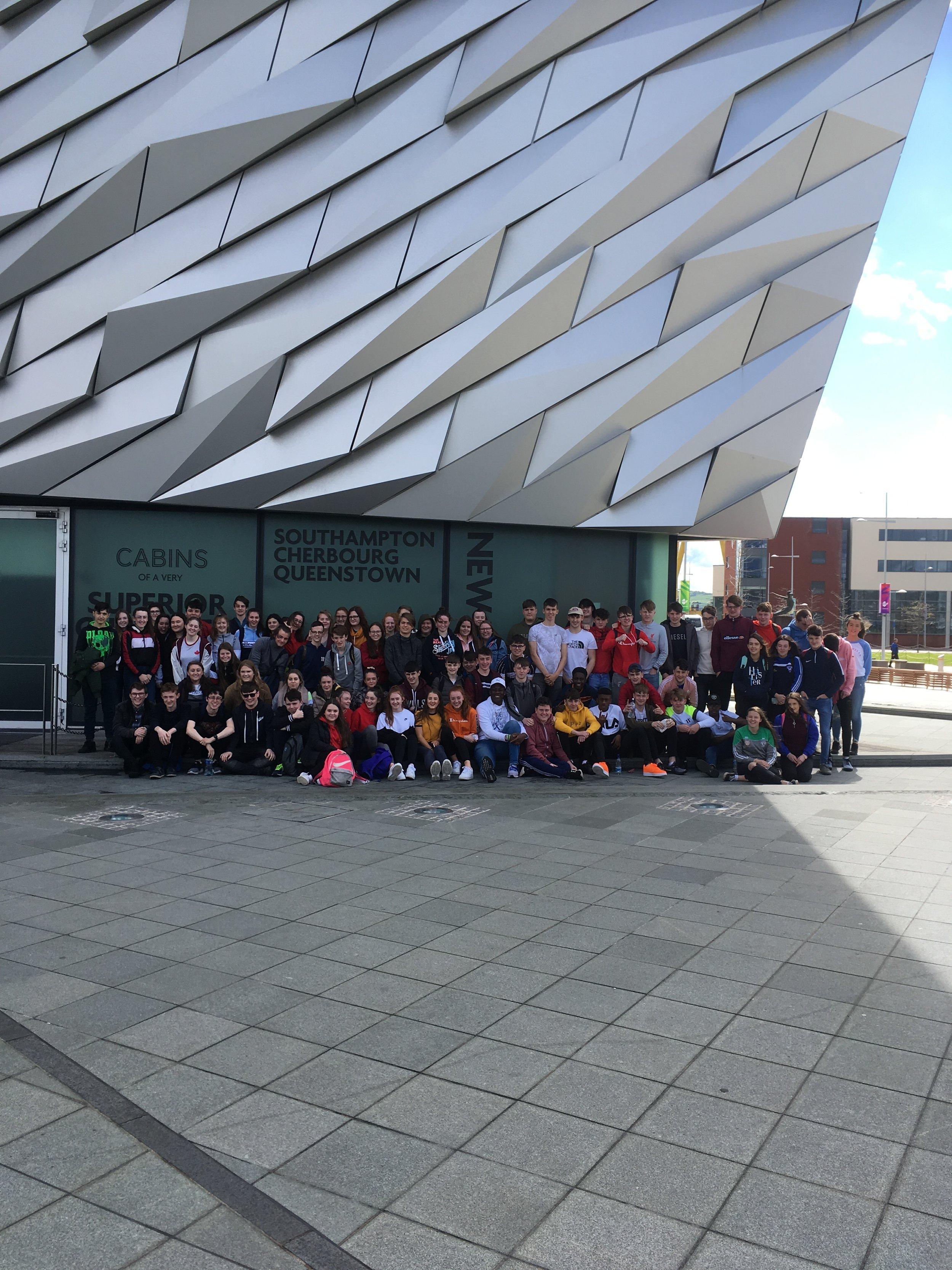 TYs Trip to Belfast