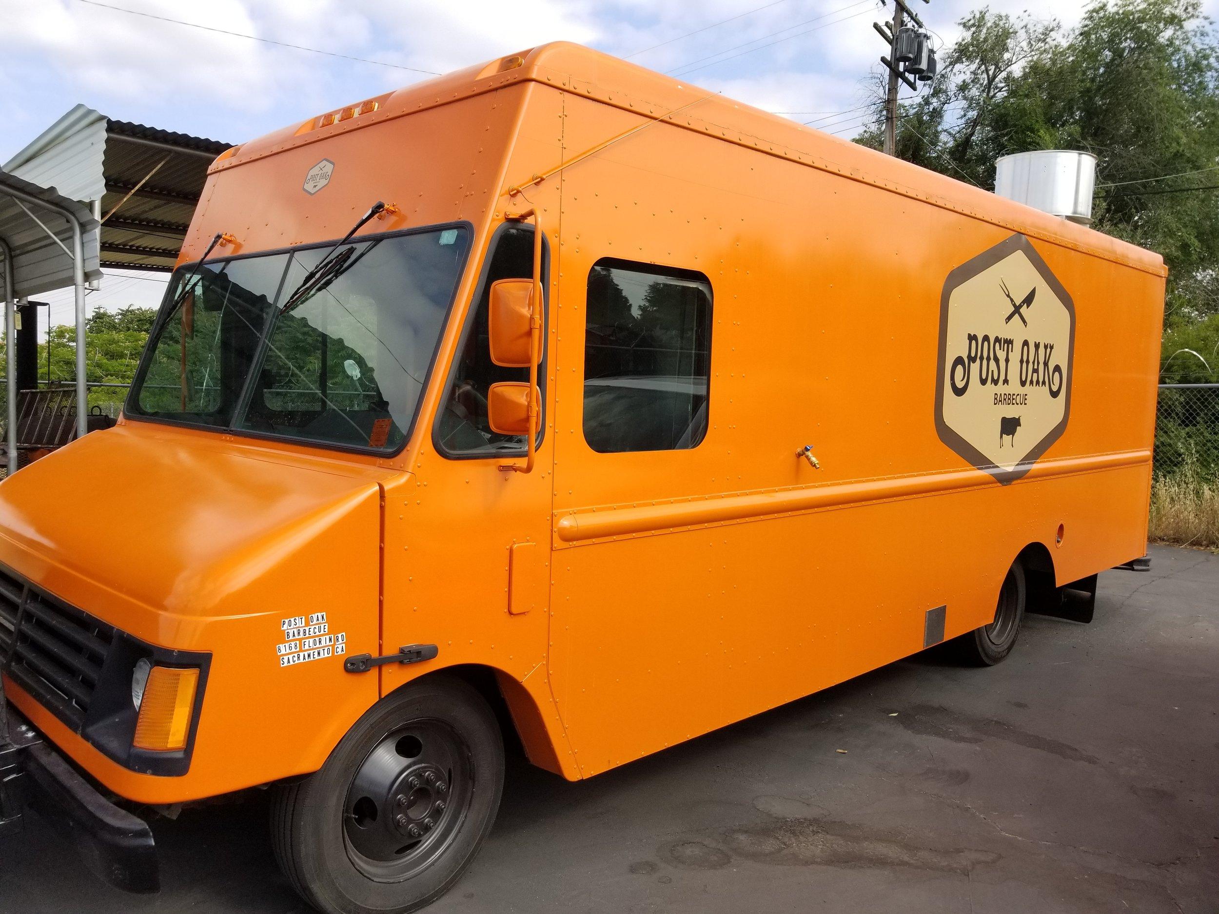 Post Oak Barbecue Food Truck