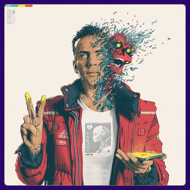 """Logic released his fifth studio album, """"Confessions of a Dangerous Mind"""" today on @applemusic @tidal @spotify."""