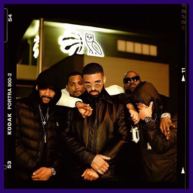"""After the @raptors secured the bag in winning the NBA Finals, Drake took to the booth to release two new songs: """"Omertà"""" & """"Money in the Grave"""" (feat. Rick Ross). Hear @champagnepapi's first solo bars since 'Scorpion' on @applemusic @spotify @tidal 🔥"""