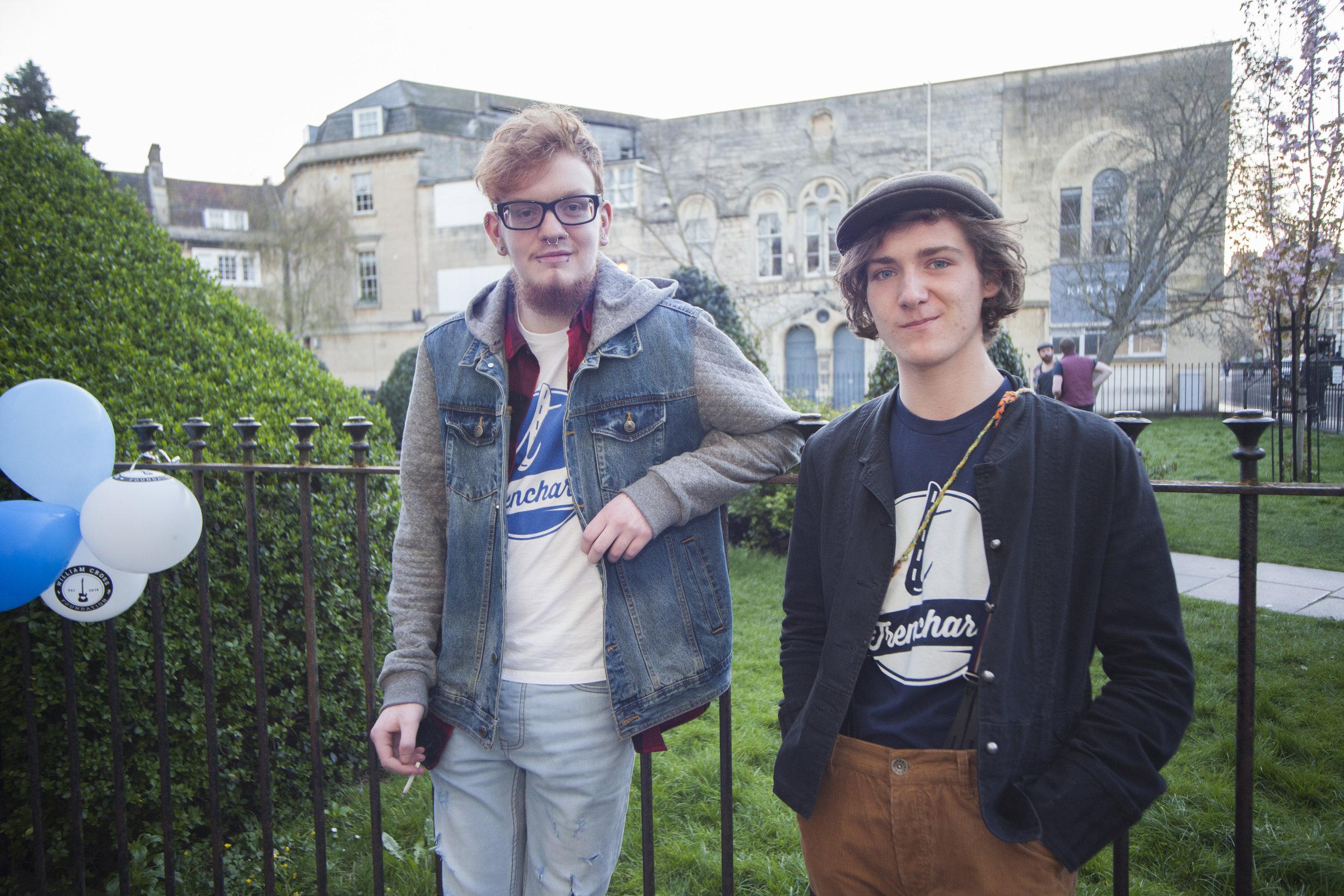 Chris Borgars and Cameron Thomas