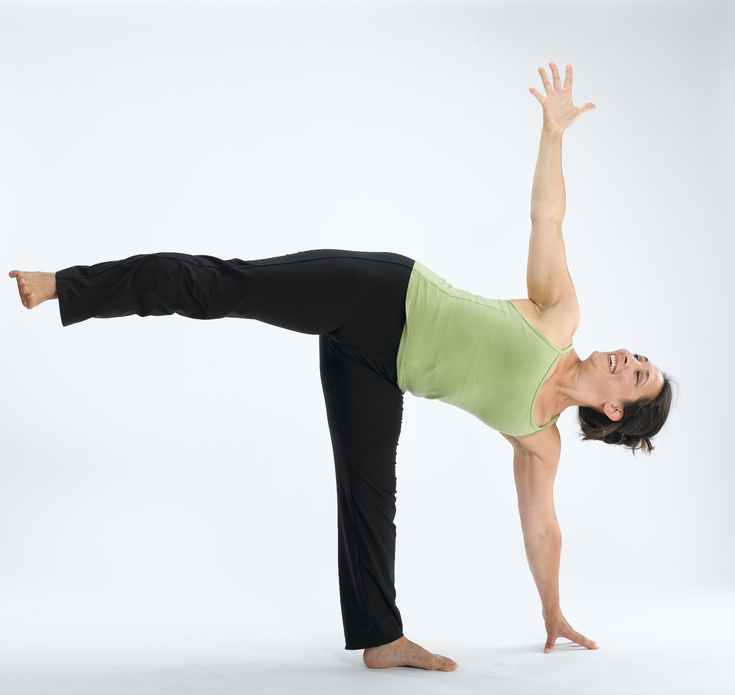 Ardha Chandrasana the Half-Moon Pose