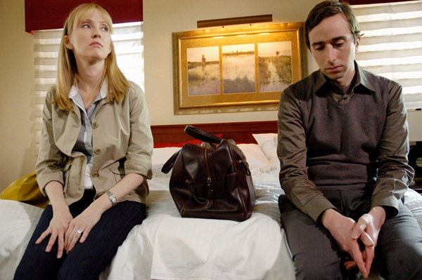 Armless, starring Janel Moloney and Daniel London. Photo: Sarah Sloboda.