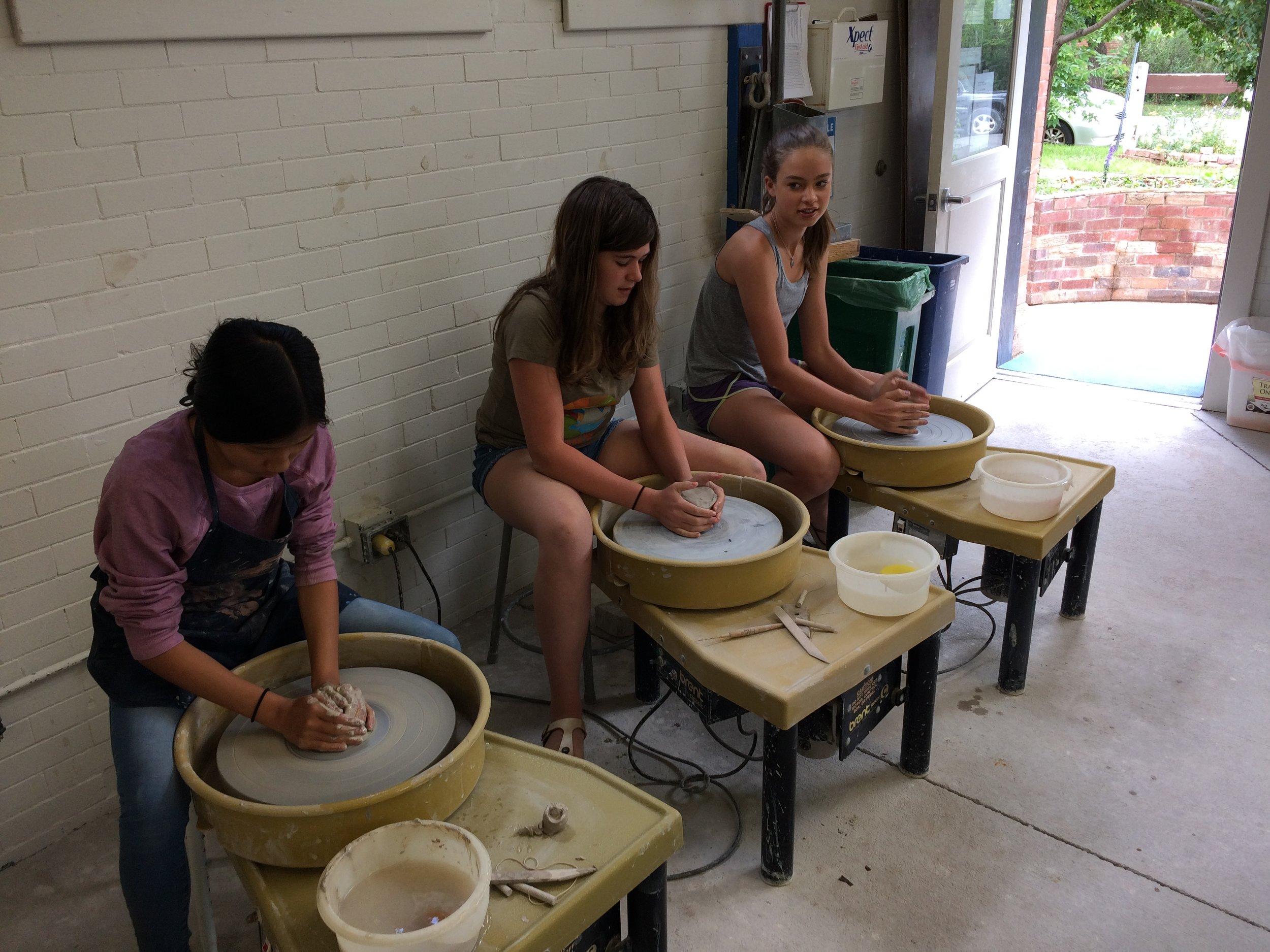 Summer Camps Studio Arts Boulder
