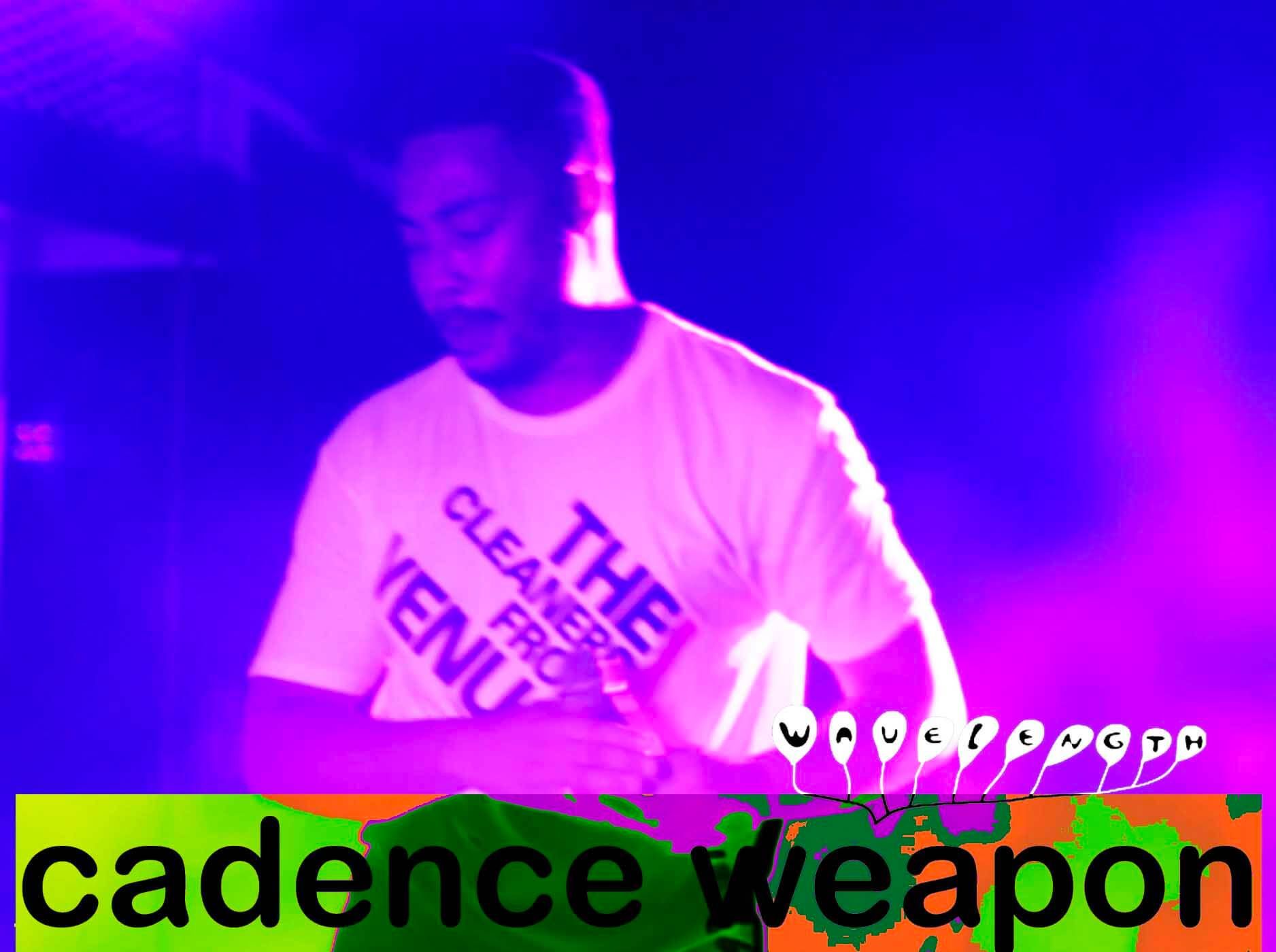Cadence Weapon LIVE from the Wavelength Camp Cruise!