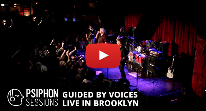 Live from The Bell House in Brooklyn New York, it's GBV!