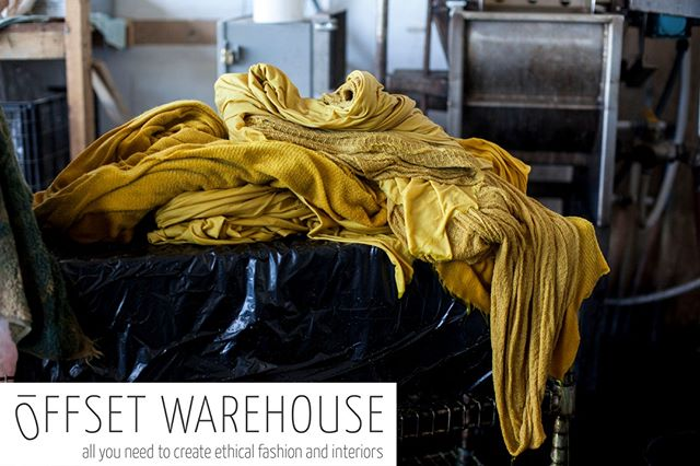 Join us on October 3rd at 9am-10am EST and 2pm-3pm BST for a live webinar hosted by @offset_warehouse where we will describe how natural dyes can be implemented into your brand. Offset Warehouse has created 'The Members' Club'; a platform filled with resources and information to help your business grow and succeed responsibly and ethically. We are honored that they have considered us a resource for the amazing brands taking the much needed steps towards a more ethical and sustainable future for the textile industry. We hope to see you there! Link in bio.