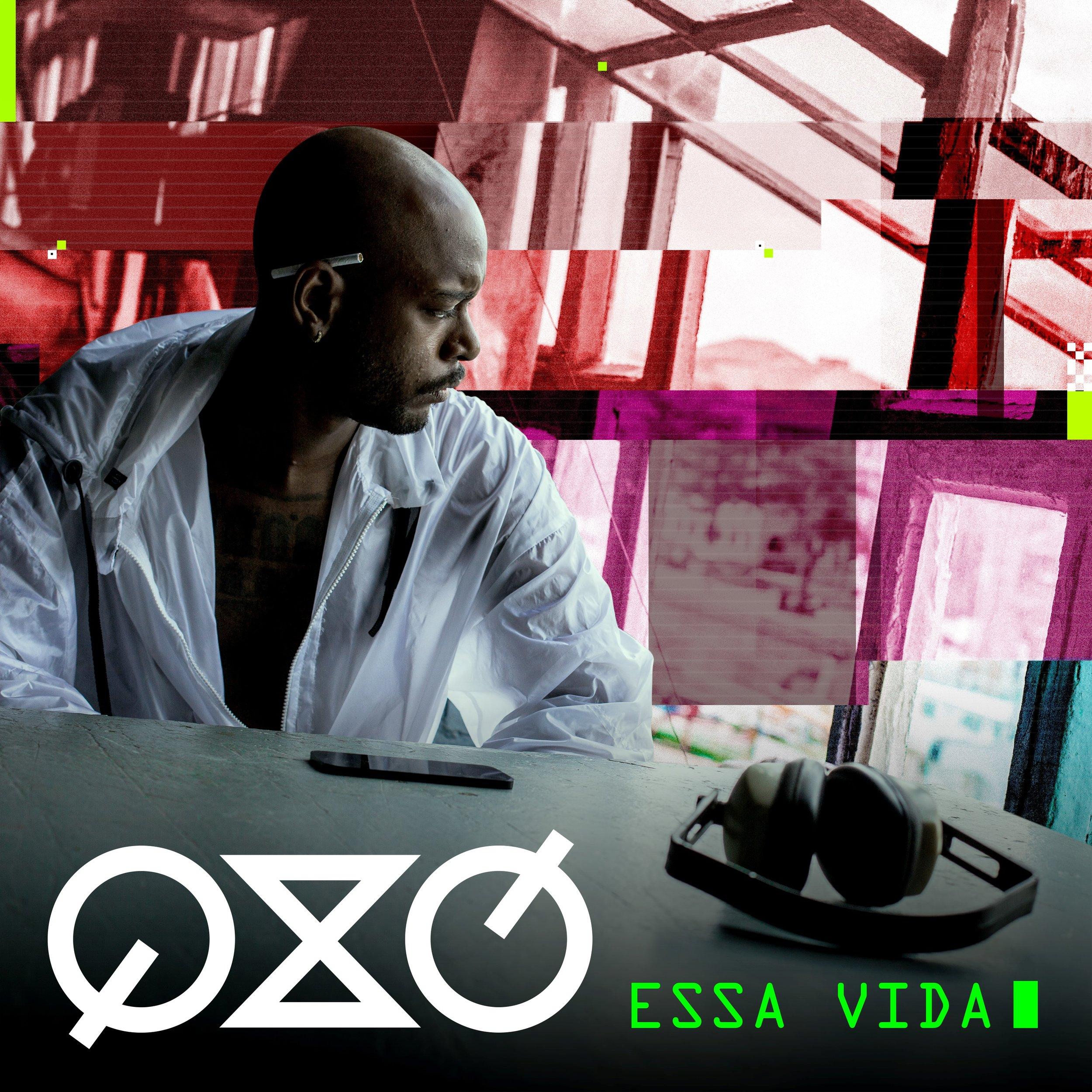 Capa do novo single de QXÓ.