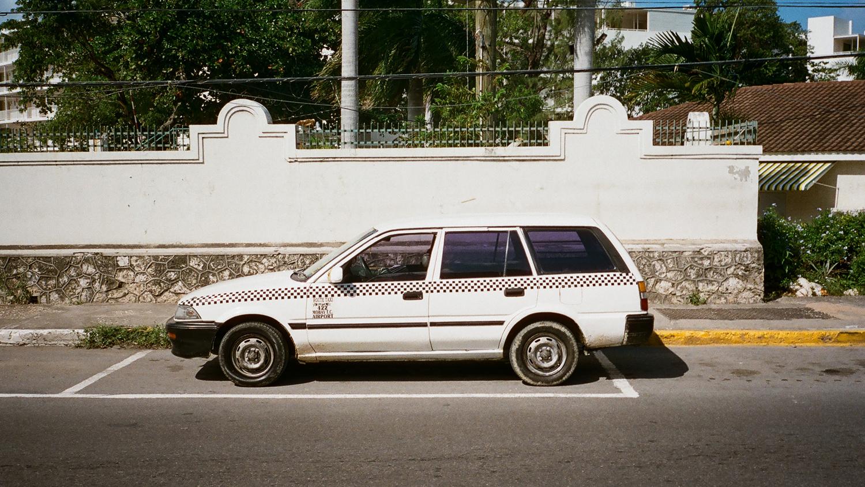 Taxi, Montego Bay Jamaica,2016