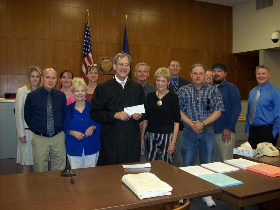 Josephine County's Mental Health Court team