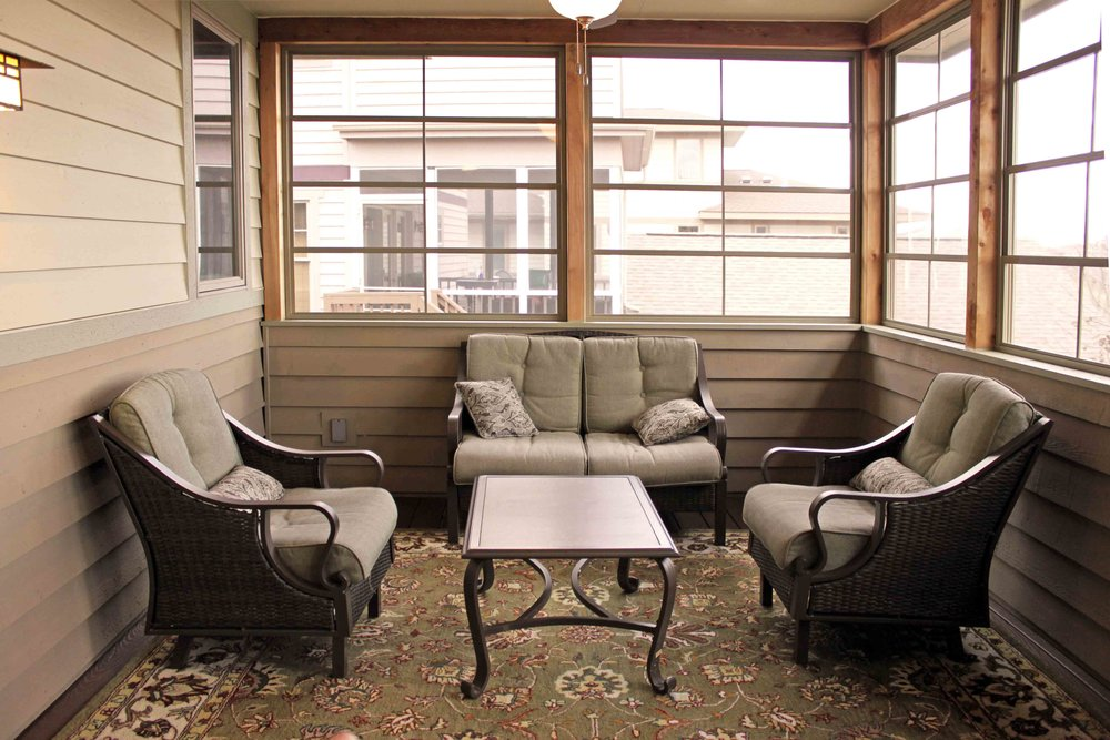 2-Story Porch Solution Lower Level