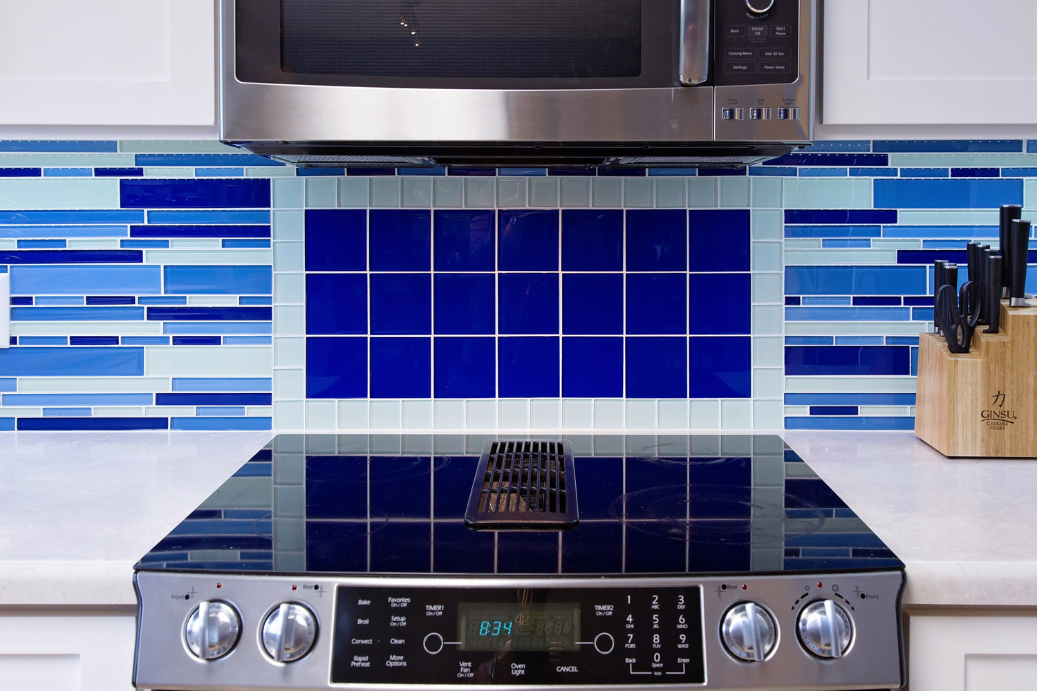 Jenn-AirSlide-In Electric Downdraft Range with Convection,
