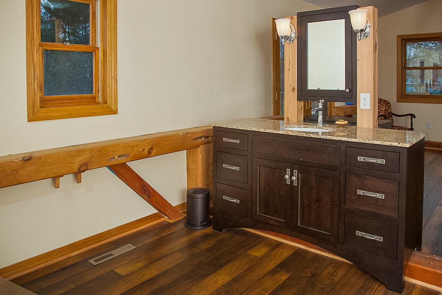 Statz Free Standing Vanity Bath Remodel