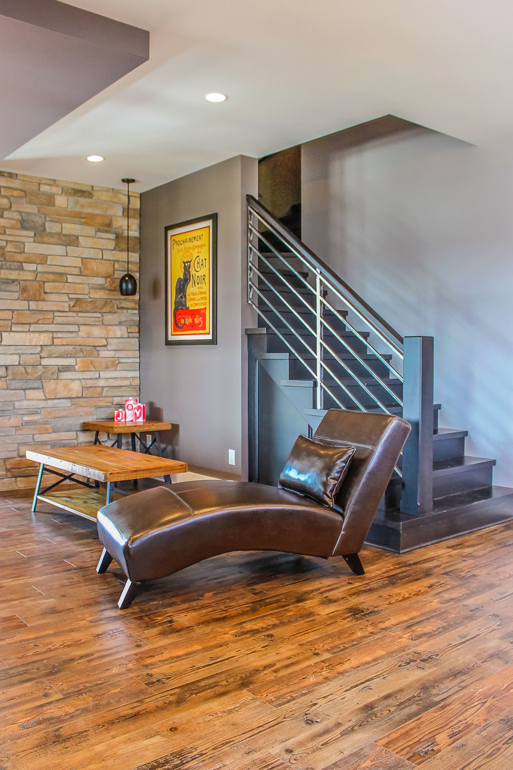 Living Room Design with Seating Area, Sun Prarie, WI