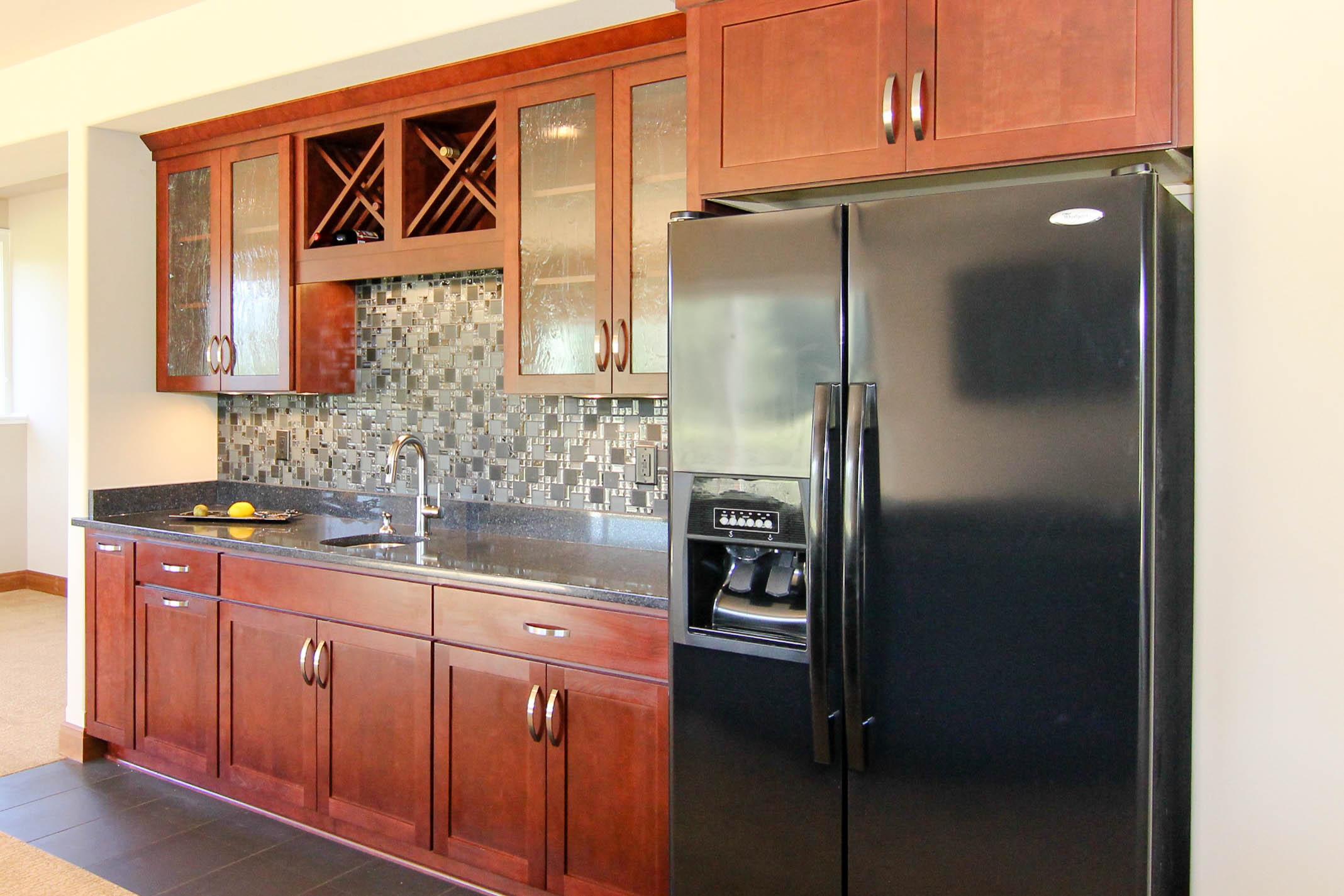 Finished Basement Kitchen Area