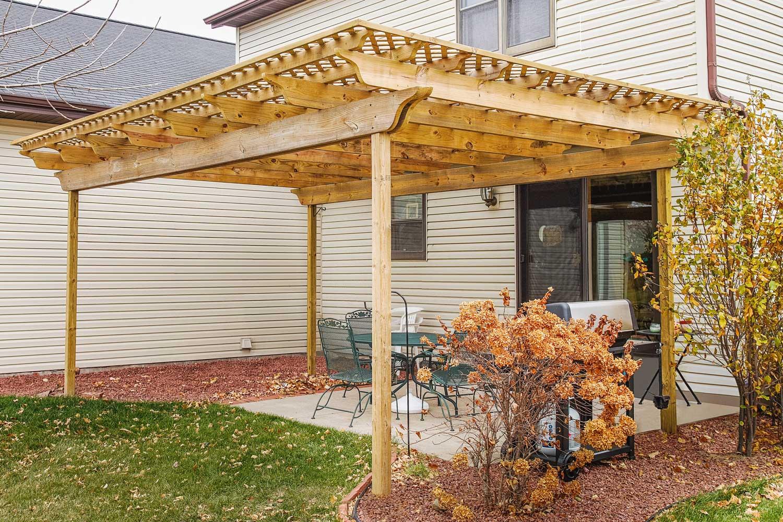 A Pergola For A Backyard Retreat