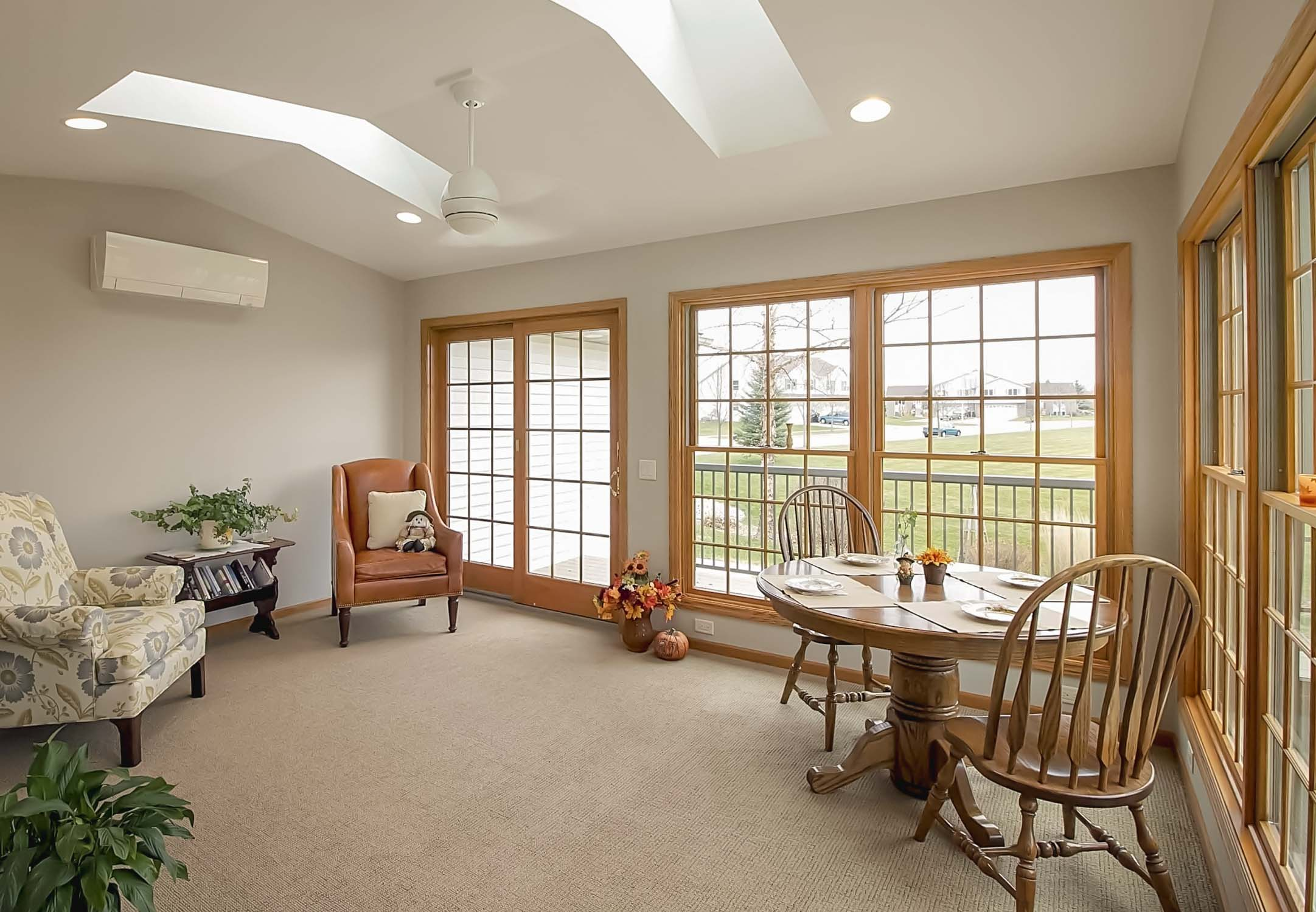 Exterior Deck and French Doors